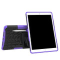 "Purple Shock Proof Kickstand Case Cover For Apple iPad Air 3 10.5"" - 5"