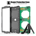 "Army Camo Apple iPad Air 3 10.5"" 2019 Military Shock Proof Stand Case - 3"