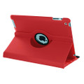 "Red 360 Degree Rotating Synthetic Leather Case For iPad Air 3 10.5"" 2019 - 2"