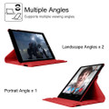 "Red 360 Degree Rotating Synthetic Leather Case For iPad Air 3 10.5"" 2019 - 5"