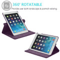 """Purple 360 Degree Rotating Case For iPad Air 3 3rd Gen 10.5"""" 2019 - 2"""