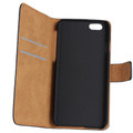 Light Blue iPhone SE 1st Gen (2016) Genuine Leather Wallet Case - 2