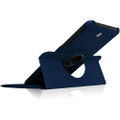 Navy Galaxy Tab A 8.0 (2015) T350 T355 360 Rotating Stand Case - 3