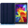 Navy Galaxy Tab A 8.0 (2015) T350 T355 360 Rotating Stand Case - 5