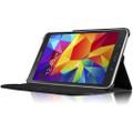 Black 360 Degree Rotating Folio Stand Case for Galaxy Tab A 7.0 (2016) - 2