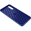 Blue Oppo A91 Slim Armor Shock Proof Metal Ring Stand Case - 6