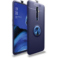 Blue Oppo A5 / A9 2020 Shock Proof Metal 360 Rotating Ring Stand Case - 1