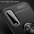 Black Oppo Find X2 Pro Armor Metal Circle Holder 360 Ring Stand Case - 5