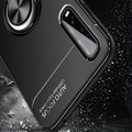 Black Oppo Find X2 Pro Armor Metal Circle Holder 360 Ring Stand Case - 8