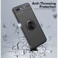 Black Slim Armor Metal Holder 360 Ring Stand Case For Oppo AX5 / A3S - 5