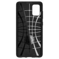 Black Samsung Galaxy A51 Carbon Fibre Slim Armor Protective Case - 3