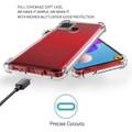 Clear Samsung Galaxy A21s Shock-Absorption Ultra Slim Gel Case - 2