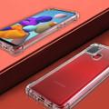Clear Samsung Galaxy A21s Shock-Absorption Ultra Slim Gel Case - 4
