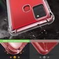 Clear Samsung Galaxy A21s Shock-Absorption Ultra Slim Gel Case - 5