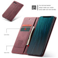 Red Wine Oppo AX5 / A3S CaseMe Compact Flip Magnetic Wallet Case - 2