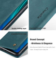 Blue CaseMe Magnetic Compact Flip Wallet Case For Oppo A9 2020 - 5