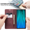 Red Wine Oppo A9 2020 CaseMe Compact Flip Magnetic Wallet Case - 4