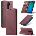 Red Wine Oppo A9 2020 CaseMe Compact Flip Magnetic Wallet Case - 6