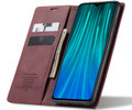 Red Wine Oppo A9 2020 CaseMe Compact Flip Magnetic Wallet Case - 2