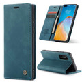 Blue CaseMe Magnetic Compact Flip Wallet Case For Oppo A52 - 6