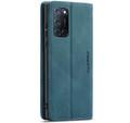 Blue CaseMe Magnetic Compact Flip Wallet Case For Oppo A52 - 2