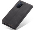 Black Oppo A72 CaseMe Compact Flip Premium Wallet Case - 3