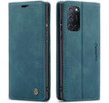 Blue CaseMe Magnetic Compact Flip Wallet Case For Oppo A72 - 1