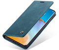 Blue CaseMe Magnetic Compact Flip Wallet Case For Oppo A72 - 6