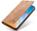 Vintage Brown Oppo A72 CaseMe Compact Flip  Wallet Case  - 3