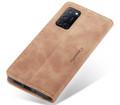 Vintage Brown Oppo A72 CaseMe Compact Flip  Wallet Case  - 2