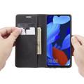 Black Oppo Reno Z CaseMe Compact Flip Premium Wallet Case - 6