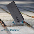 Black Oppo Reno 2z CaseMe Compact Flip Premium Wallet Case - 5