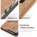 Vintage Brown Oppo Reno 2z CaseMe Compact Flip  Wallet Case  - 5