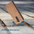 Vintage Brown Oppo Reno 2z CaseMe Compact Flip  Wallet Case  - 2