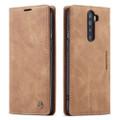 Vintage Brown Oppo Reno 2z CaseMe Compact Flip  Wallet Case  - 1