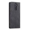 Black Oppo Reno 10X Zoom CaseMe Slim Flip Premium Wallet Case - 6