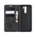 Black Oppo Reno 10X Zoom CaseMe Slim Flip Premium Wallet Case - 5