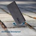 Black Oppo Reno 10X Zoom CaseMe Slim Flip Premium Wallet Case - 4