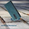 Blue CaseMe Magnetic Slim Flip Wallet Case For Oppo Reno 10X Zoom - 4