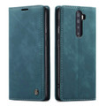 Blue CaseMe Magnetic Slim Flip Wallet Case For Oppo Reno 10X Zoom - 5