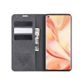 Black Oppo Find X2 Pro CaseMe Slim Flip Premium Wallet Case - 2