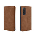 Vintage Brown Oppo Find X2 Pro CaseMe Slim Flip  Wallet Case  - 2