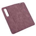 Wine Oppo Find X2 Pro CaseMe Slim Flip Magnetic Wallet Case - 5