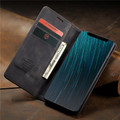 Black Huawei Mate 20 pro Genuine CaseMe Compact Flip Wallet Case - 5