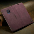 Red Wine Genuine CaseMe Compact Flip Wallet Case For Huawei Mate 20 pro  - 2