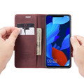 Red Wine Genuine CaseMe Compact Flip Wallet Case For Huawei Mate 20 pro  - 1