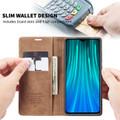 Brown Huawei Mate 20 CaseMe Premium PU Leather Wallet Case - 5