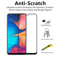 Clear 9D Tempered Glass Screen Protector For Samsung Galaxy A20s  - 2