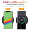 10W Fast Wireless Charger Qi Charging Pad For Mobile Smart Phones - 2