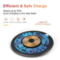 10W Fast Wireless Charger Qi Charging Pad For Mobile Smart Phones - 4